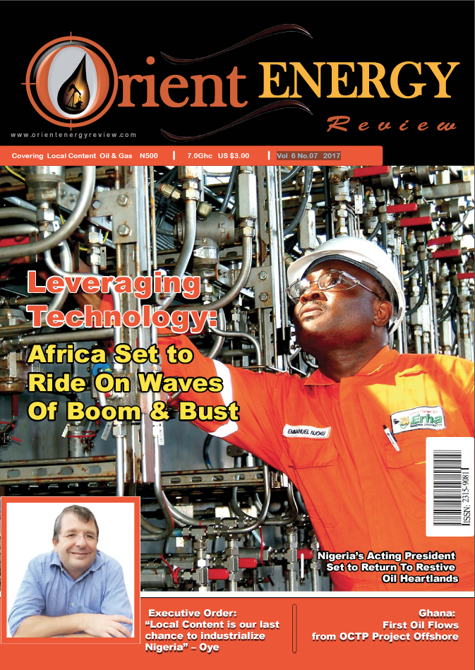 OER Magazine Vol 6 No.07 2017 Edition - Leveraging Technology : Africa Set to Ride On Waves Of Boom & Bust