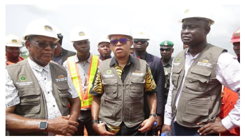 Capture - NNPC Commends Oilserv on on-going East-West Gas Pipeline Project